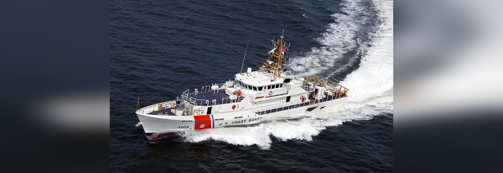 Sistership of the USCGC John McCormick, USCGC Margaret Norvell operating in the U.S. Gulf of Mexico. Bollinger Shipyards photo