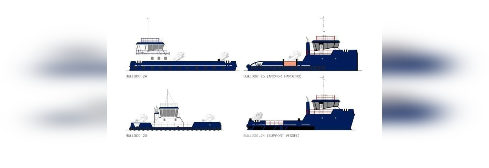 SMS unveiled variants of Bulldog design for towage, anchor handling, offshore support and multipurpose vessels