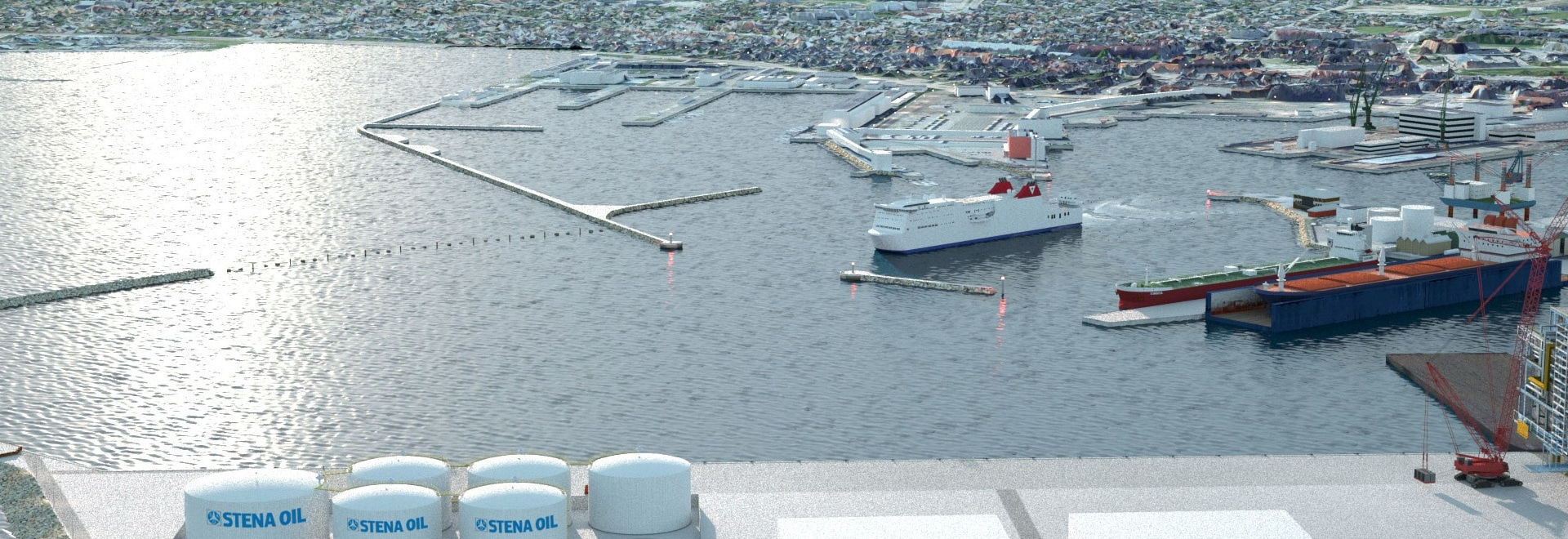 Stena Oil to Build 2020 Sulphur Cap Adapted Marine Fuel Terminal
