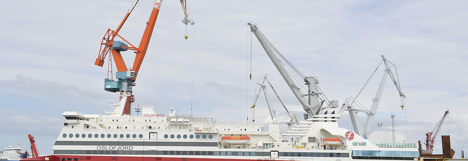 STX Finland''s cruise ferry conversion for Fjord Line completed