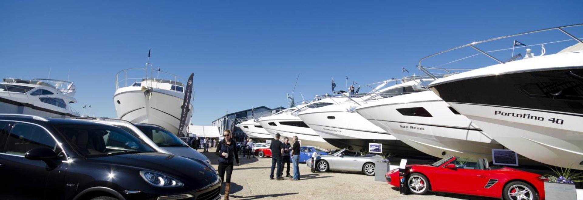 Sunseeker pre-season boat show opens on Friday 10 March in Poole
