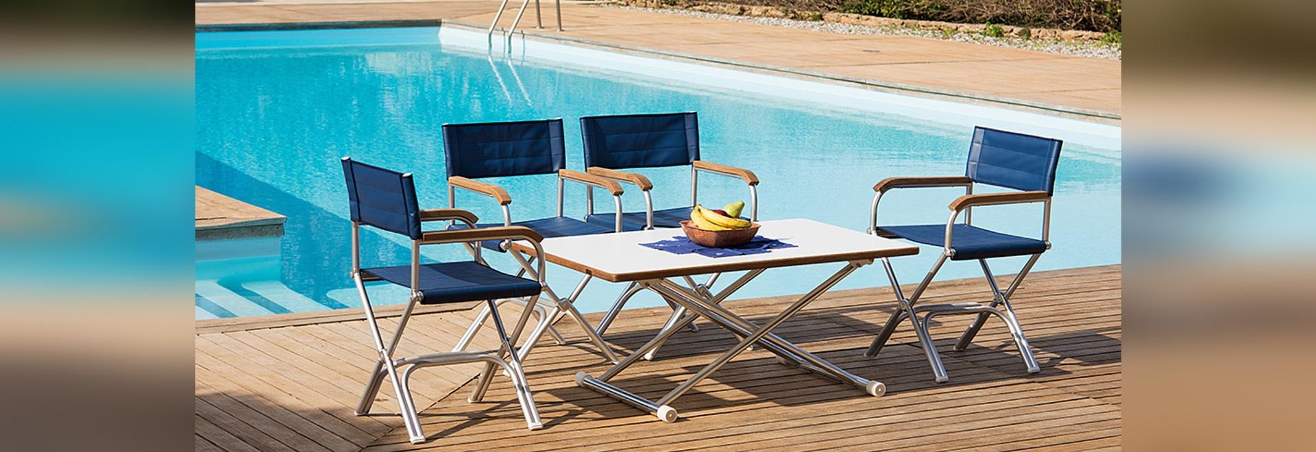 Superior design deck chair
