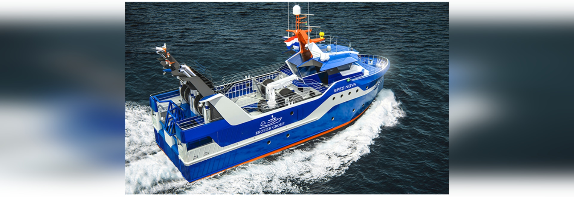 Suppliers of Ekofish's new diesel-electric fishing vessel announced