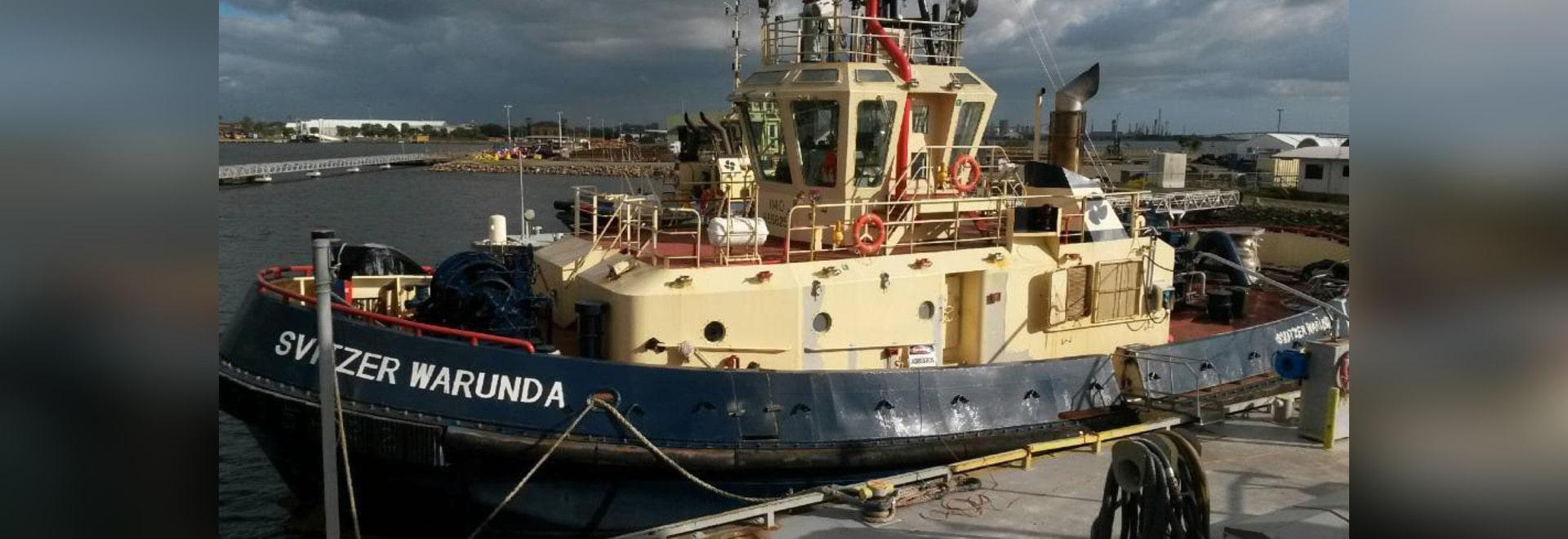 Svitzer Taking Contaminated Tugs to Singapore - Sundkaj 9