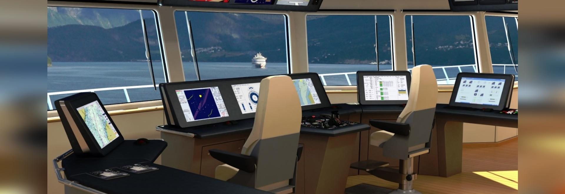 Synapsis INS, installed on an Esvagt Windpark Service Vessel