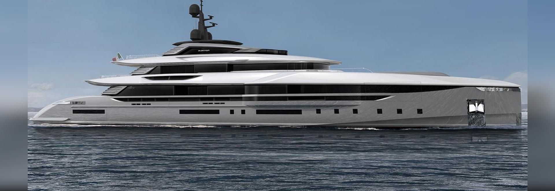 Team For Design Enrico Gobbi reveals Rossinavi concept Phantom 62