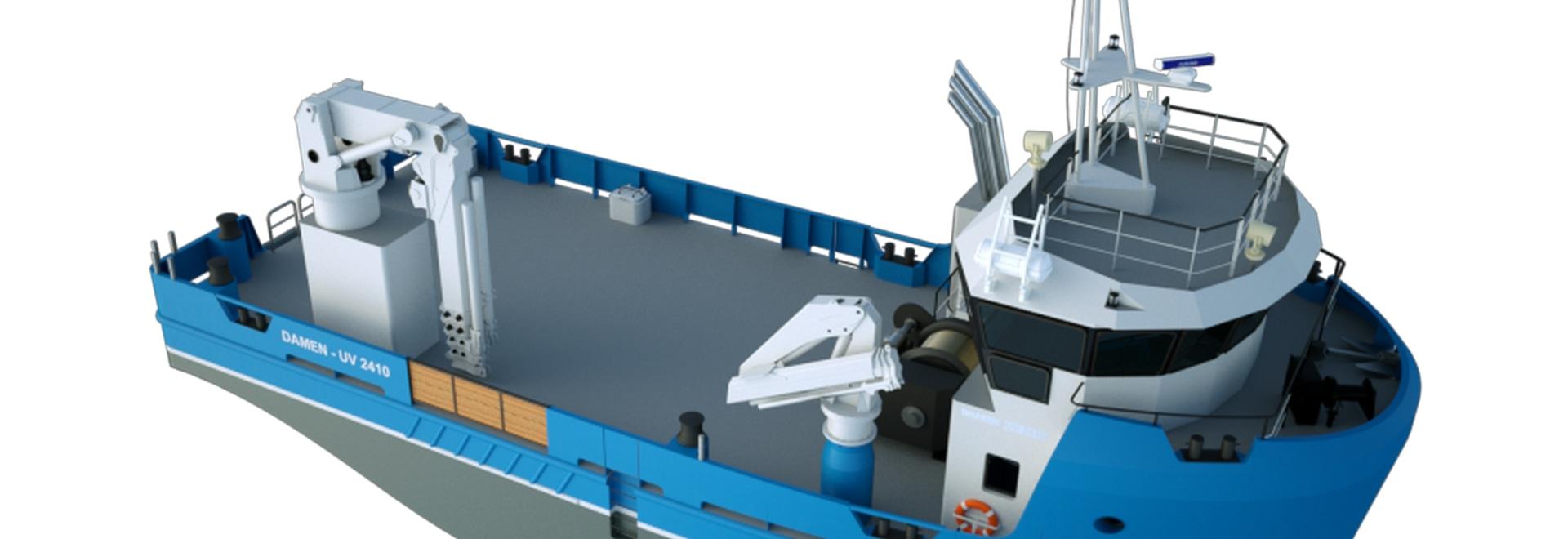 Utility Vessel 2410 Aquaculture