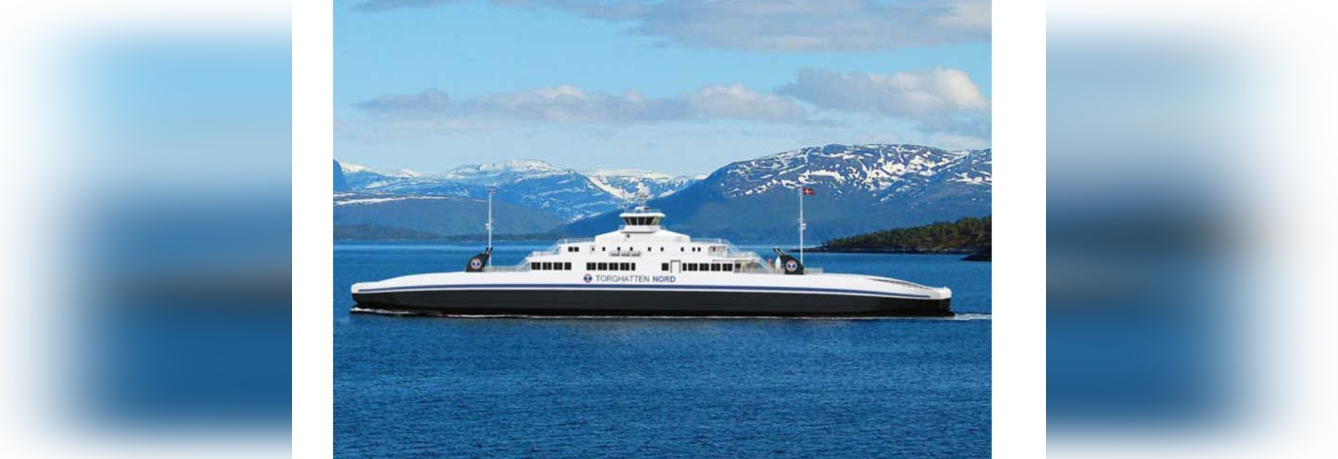 Vard to build two LNG fueled ferries for Torghatten Nord