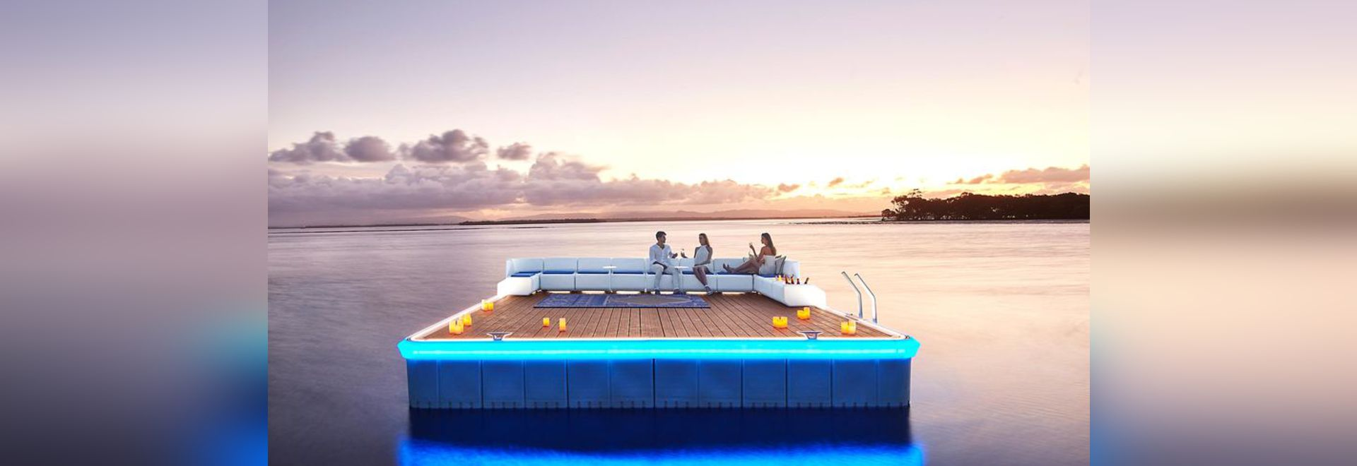 Waterscape: Your Own Luxurious Private Island!