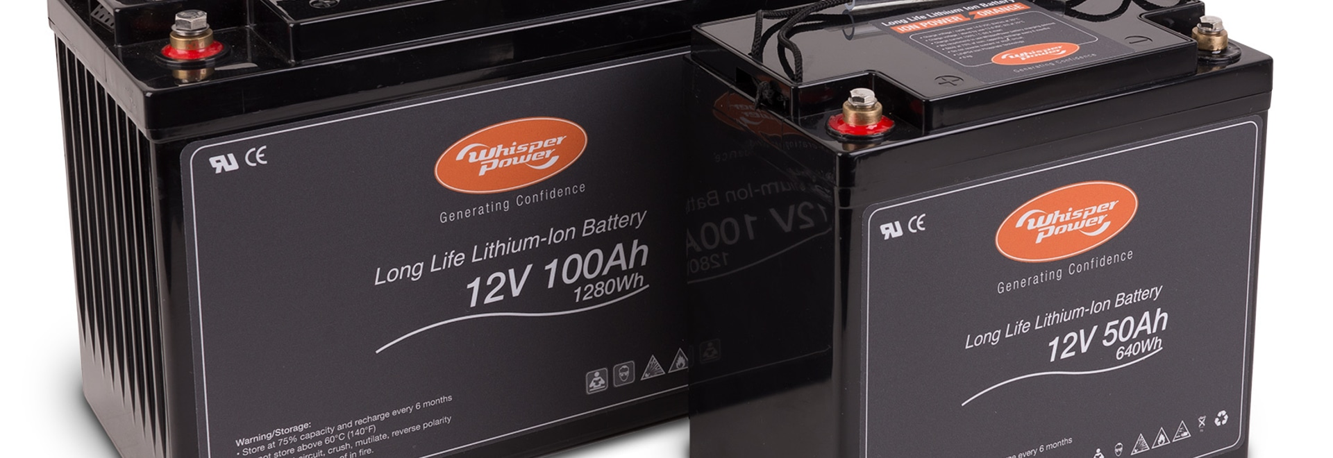 WHISPERPOWER LAUNCHES NEW LITHIUM ION BATTERY