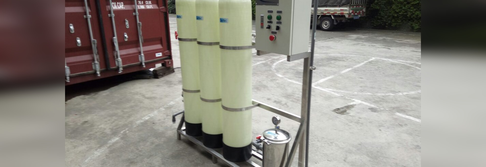 WT000 mini water treatment plant