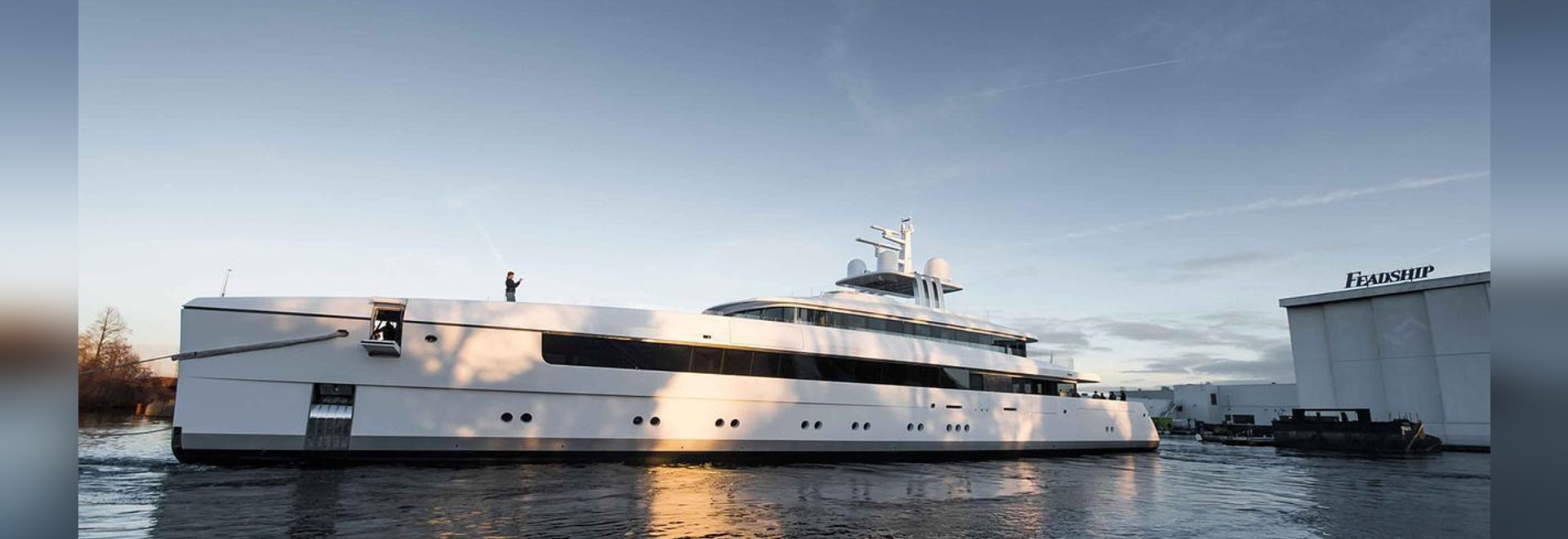 The yacht has now been named Najiba.Image courtesy of Tom Van Oossanen.