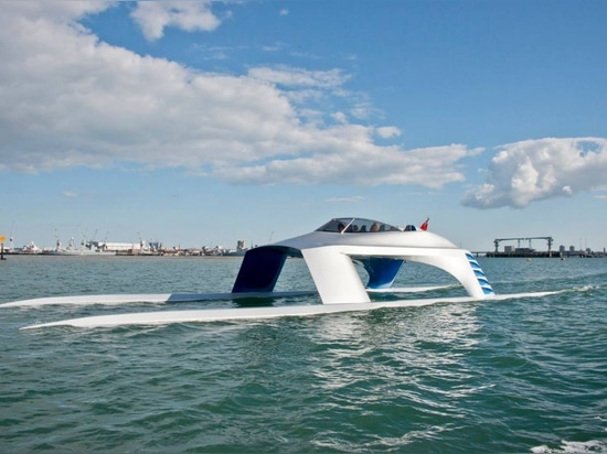 First Glider Yachts Super Sports 18 hits the water