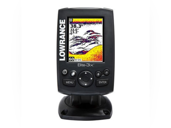 NEW: boat fish finder by Lowrance