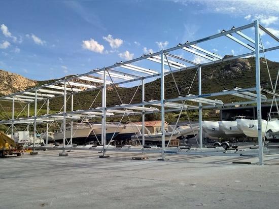 NEW: dry storage rack by NAVALTECNOSUD s.r.l.c.r.