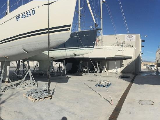 Navaltecnosud - Cradles for Boat