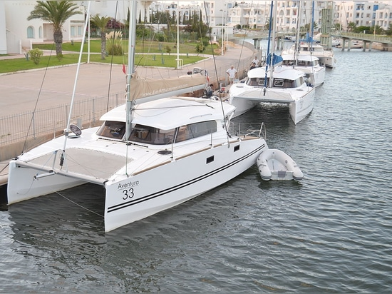 The Aventura 33 Evolution2 ; first delivered