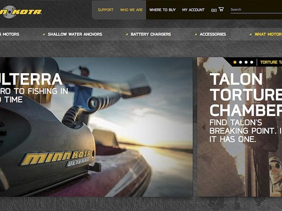 Minn Kota® Launches New, Enhanced Website to Better Serve Anglers'' Needs