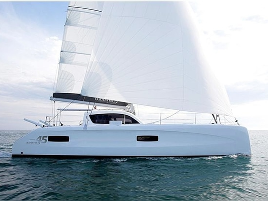 The new outremer 45 at Cannes Yachting Festival