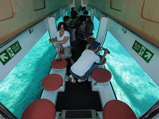 55 PAX underwater cabin