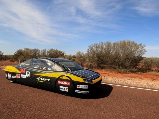 Sunswift car eVe