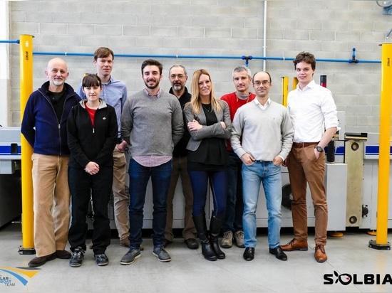 the TU Delft Solar Team in Avigliana