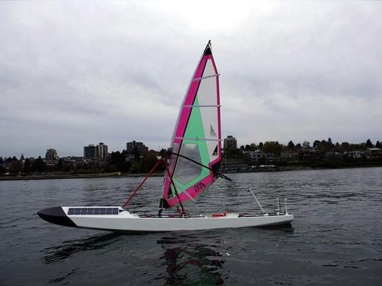 Ada, the robotic vessel of UBC Sailboat team