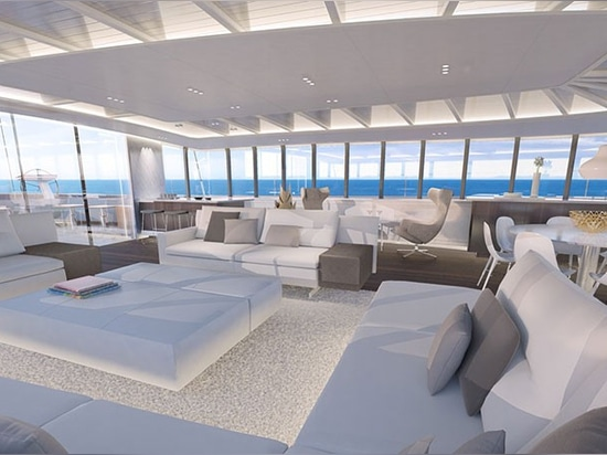 the deckhouses offer 360 degree views