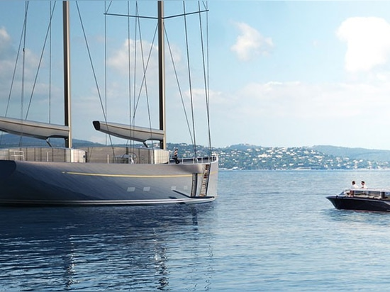 Adam Voorhees visualizes a return to classic sailing with streamlined glass details