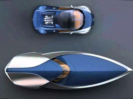 This Bugatti Veyron Sang Bleu Speedboat Must Be The Most Mind-Altering Boat Ever!