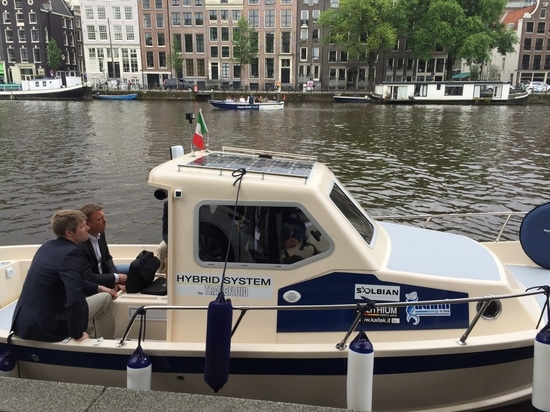 Solbian cooperates with Transfluid on hybrid boat project