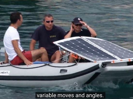 Sailing at 100 Watt