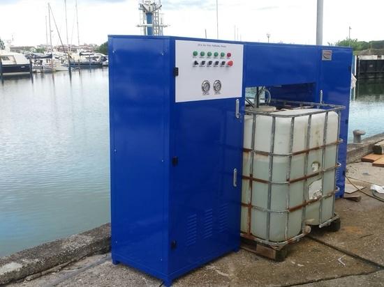 Shipyard's Water Treatment Plants