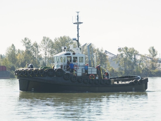 'David J' is a sturdy workmanlike tug capable of operating in tight spaces (Cummins)
