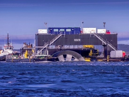 French and Canadian teams collaborate on tidal energy projects