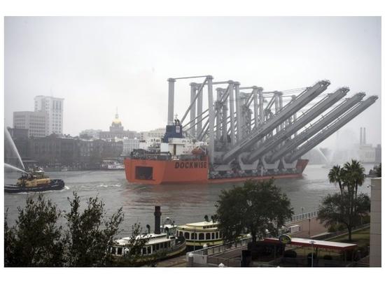 Georgia Port Authority/Stephen B. Morton