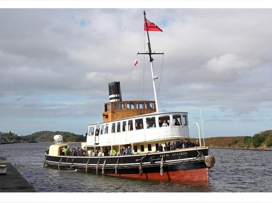 DANIEL ADAMSON STEAM SHIP WINS NATIONAL HISTORIC SHIPS AWARD