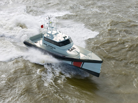 Migrant rescue boats to have MTU engines