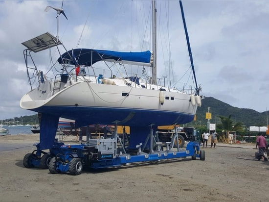 Navaltecnosud goes to Grenada - Caribbean