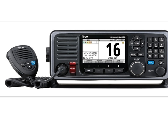 Icom's new GM600 is designed for Class A DSC operation