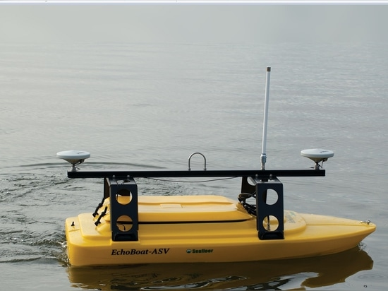 A Seafloor Systems' EchoBoat-G2 designed for impromptu and routine inspection surveys via remote control, which will be demonstrated at Ocean Business 2017