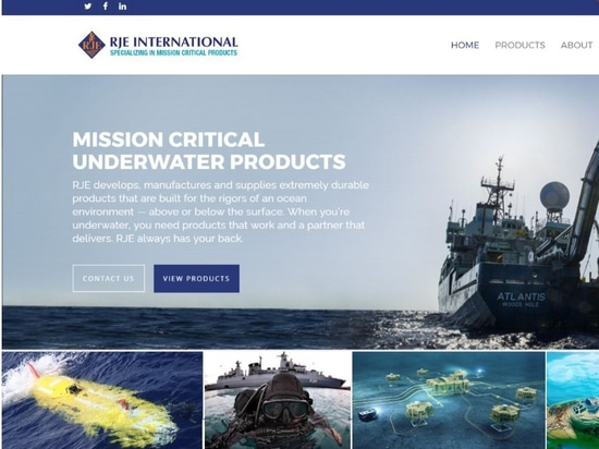 RJE International launches new website