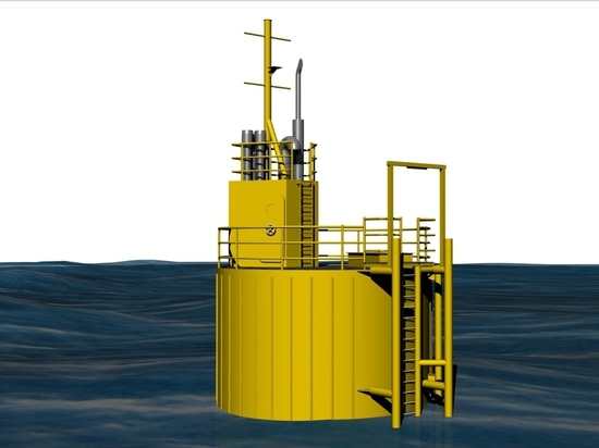 The offshore unit will provide the support platform for a Micro Grid System