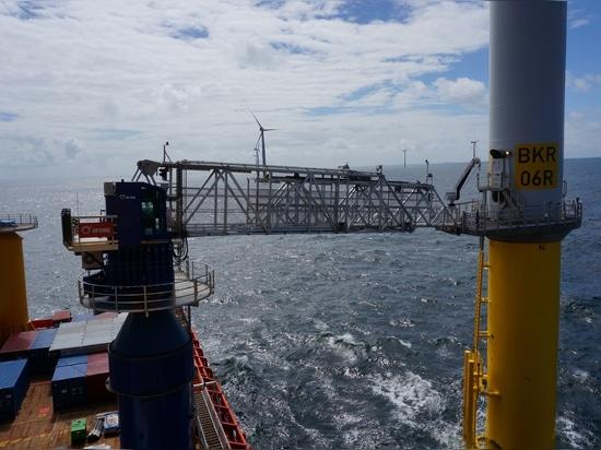 Uptime access system on Edda Fjord