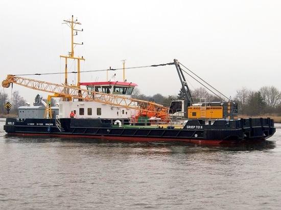Griep To 11 adds a multi-purpose dimension to Kiel Canal work (Photo: WSA Kiel-Holtenau)