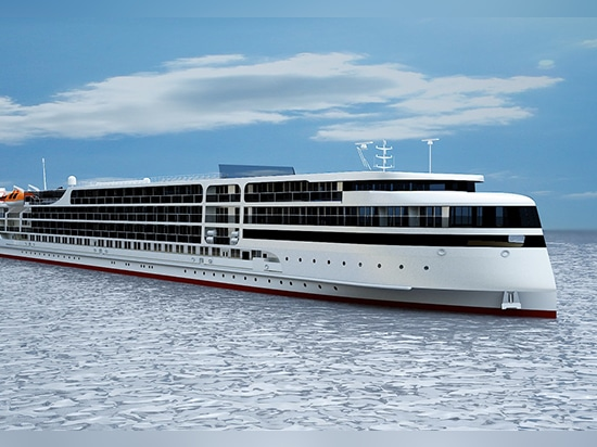 Russian yard lays keel for river cruise ship