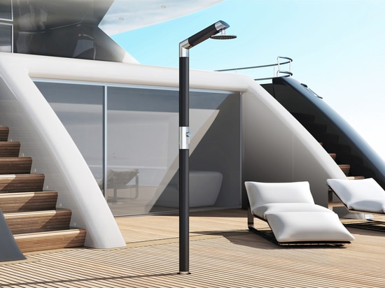 Carbon & Steel DB BC - Shower for yachts