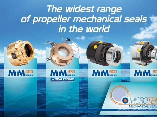The widest range of propeller shaft mechanical seals