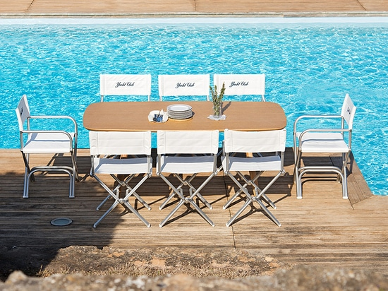 Luxury Design Folding Chairs for Boat or Pool Decks