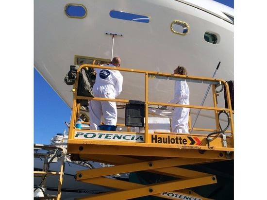 Prolong the life of your superyacht paint